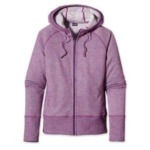 Patagonia Cloud Stack Full Zip Purple Hoodie sz S